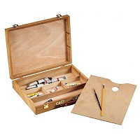 Wood Sketch Box Lg
