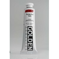 Pyrrole Red Dark 2 oz Golden Acrylic