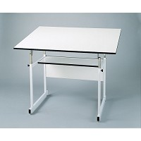 Alvin Drafting Table Workmaster White Base 36X48