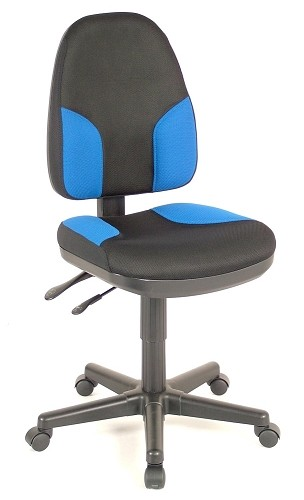 Task Chair Monarch Blue And Black Task Chair
