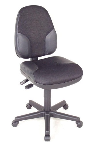 Task Chair Monarch Leather And Meshtask Chair