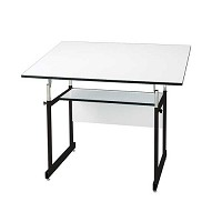 Alvin Drafting Table Workmaster Jr Black With 31X42 Top