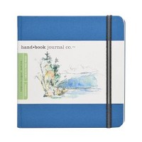 Handbook Journal Co Ultramarine Blue 5.5x5.5 Square Drawing Book