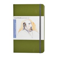 Handbook Journal Co Cadmium Green 8.25x5.5 Large Portrait Drawing Book