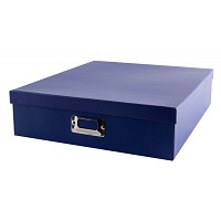 Pioneer Blue Acid-Free Storage Box