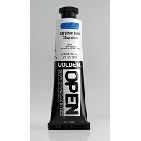 Golden Open Acrylics  Ceruleanblue Chromium 2 oz