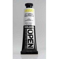 Golden Open Acrylics  Cad. Yellow Primrose 2 oz