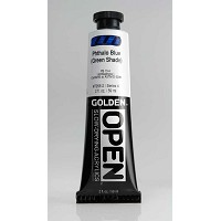 Golden Open Acrylics Phthalo Blue G.S. 2 oz