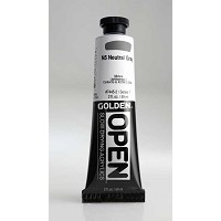 Golden Open Acrylics  Neutral Gray N5 2 oz