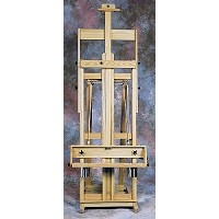 Classic Santa Fe III Oak Studio Easel by BEST
