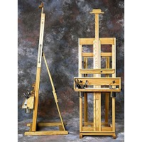 Classic Santa Fe I Oak Studio Easel by BEST
