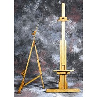 Medium Collapsible Chimayo Oak Easel by BEST