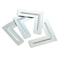Aluminum Corners  for Aluminum Stretcher Bars  4pk