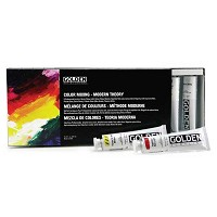 Golden Acrylics Modern Theory Color Mixing Set