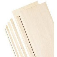 Balsa Sheets 3/64 X 3 inch  pack of 10