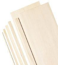 Balsa Sheets 1/8 X 3 inch pack of 10
