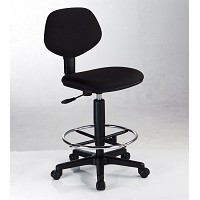 Budget Black Drafting Chair