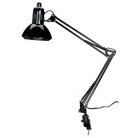 Swing Arm Lamp, Black