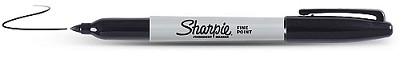Sharpie Marker Fine Point Red