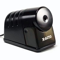 Heavy-Duty Commercial Grade Electric Pencil Sharpener Black
