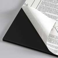 32 x 40 Black Gilman Self Adhesive Foam Board 24 pack