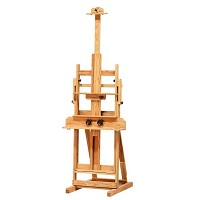 University Oak Studio Easel by BEST