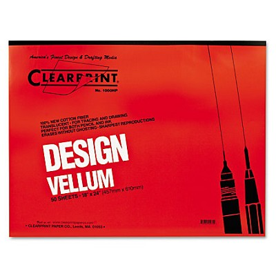 16 lb. Clearprint Vellum 30 x 42 100 Sheet Pack