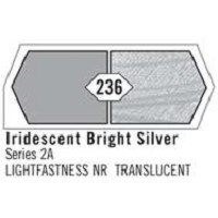 Liquitex Basics 4oz Iridescent Bright Silver