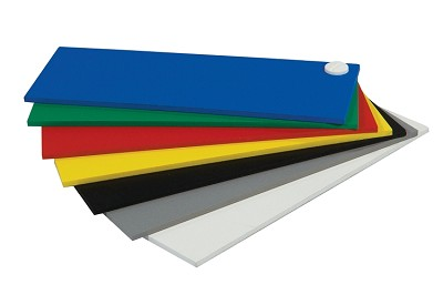 48 x 96 x 3mm Komatex PVC Board White Black and Colors 5 pack