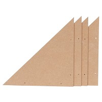 Masonite Corners for Best Stretcher Bars