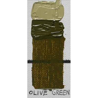 Gamblin 1980 Oil Color Paint Olive Green 37ml