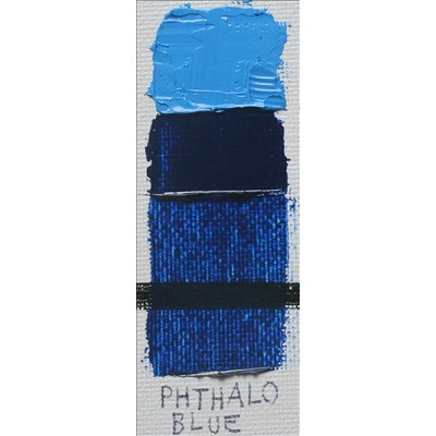 Gamblin 1980 Oil Color Paint Phthalo Blue 37ml