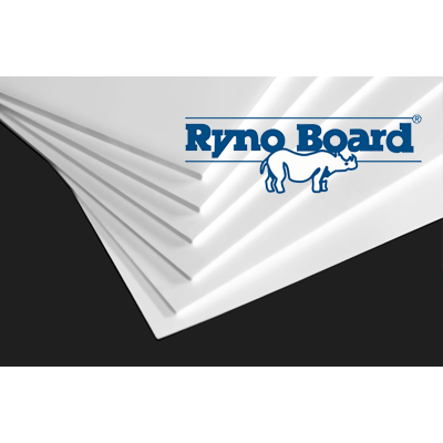 Ryno Board White 48 x 96 x 1/4 16 sheets