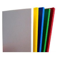 11x14x3mm Dark Gray Sintra PVC 20 pack