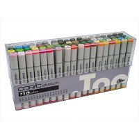 Copic Markers Original Set C 72 Pc