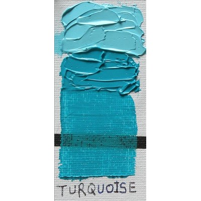 Gamblin 1980 Oil Color Paint Turquoise 37ml