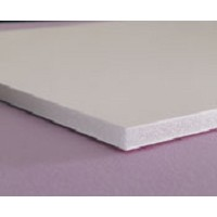 40 x 60 x 3/16 327C White Fome-Cor Board 25 pack