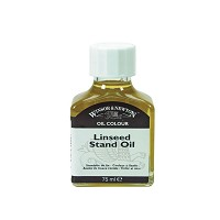 Stand Linseed Oil 75ml Bottle