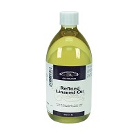 Refined Linseed Oil 1 Litre Bottle