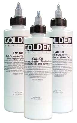 Golden  Gac-900 Acrylic Heat Set 8 oz
