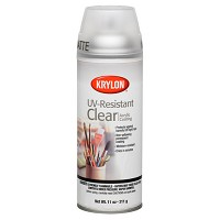 Uv Resistant Clear Matte Spray 11oz