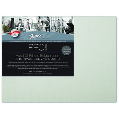 Pack Of 12 Fredrix Pro Series Oil Primed Linen Canvas Panels 8X10
