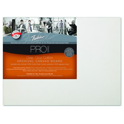 Pack Of 12 Fredrix Pro Series Archival Canvas Panels 8X10