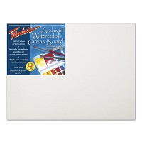 Pack Of 12 Fredrix Pro Series Archival Watercolor Canvas Boards 11X14