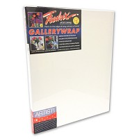 Pack Of 12 Fredrix Artist Series Gallerywrap Canvas 5X5 1-3/8 Bars