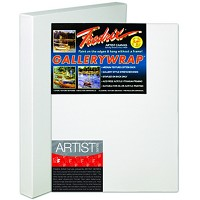 Pack Of 3 Fredrix Artist Series Gallerywrap Canvas 10X20 1-3/8 Bars